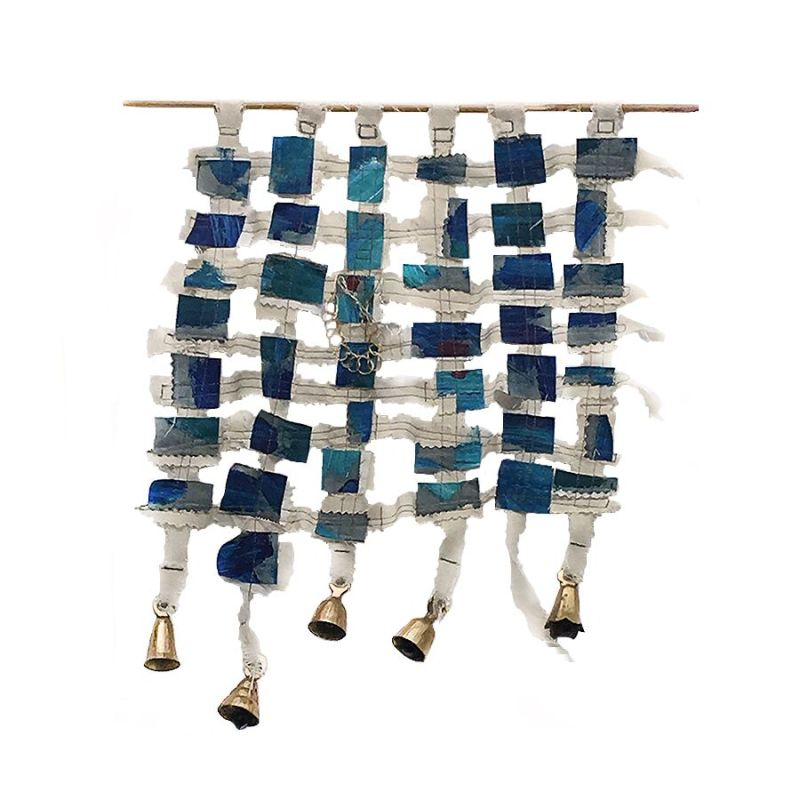 """Bells,"" Wall Hanging by Artist Angela Scozzari"