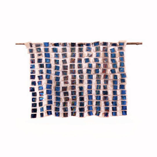 """Fragments,"" Wall Hanging Art by Artist Angela Scozzari"