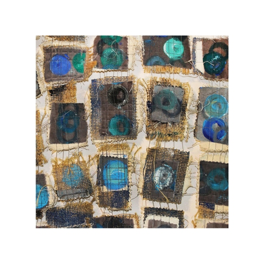 """""""Together In Pieces,"""" Wall Hanging Art by Angela Scozzari"""